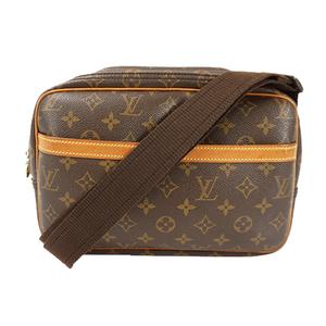 Auth Louis Vuitton Shoulder Bag Monogram ReporterPM M45254