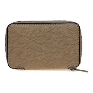 Auth Valextra Leather Coin Purse coin Case