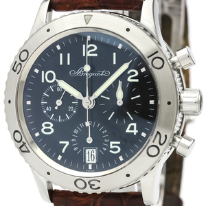 BREGUET Transatlantique Type XX Steel Automatic Watch 3820