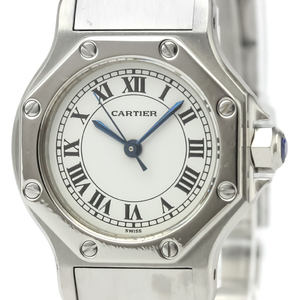 Cartier Santos Octagon Automatic Stainless Steel Women's Dress Watch