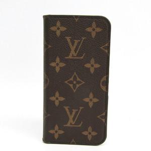 ルイ・ヴィトン(Louis Vuitton) モノグラム モノグラム 手帳型/カード入れ付きケース iPhone X 対応 マロン IPHONE X & XS・フォリオ M63443