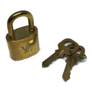 ルイ・ヴィトン(Louis Vuitton) パドロック(南京錠) 鍵 カギ キー ゴールド