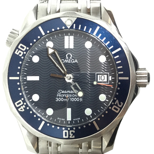 Auth Omega Quartz Watch Seamaster Professional 300