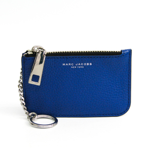 Marc Jacobs M0008459 Women's Leather Coin Purse/coin Case Blue