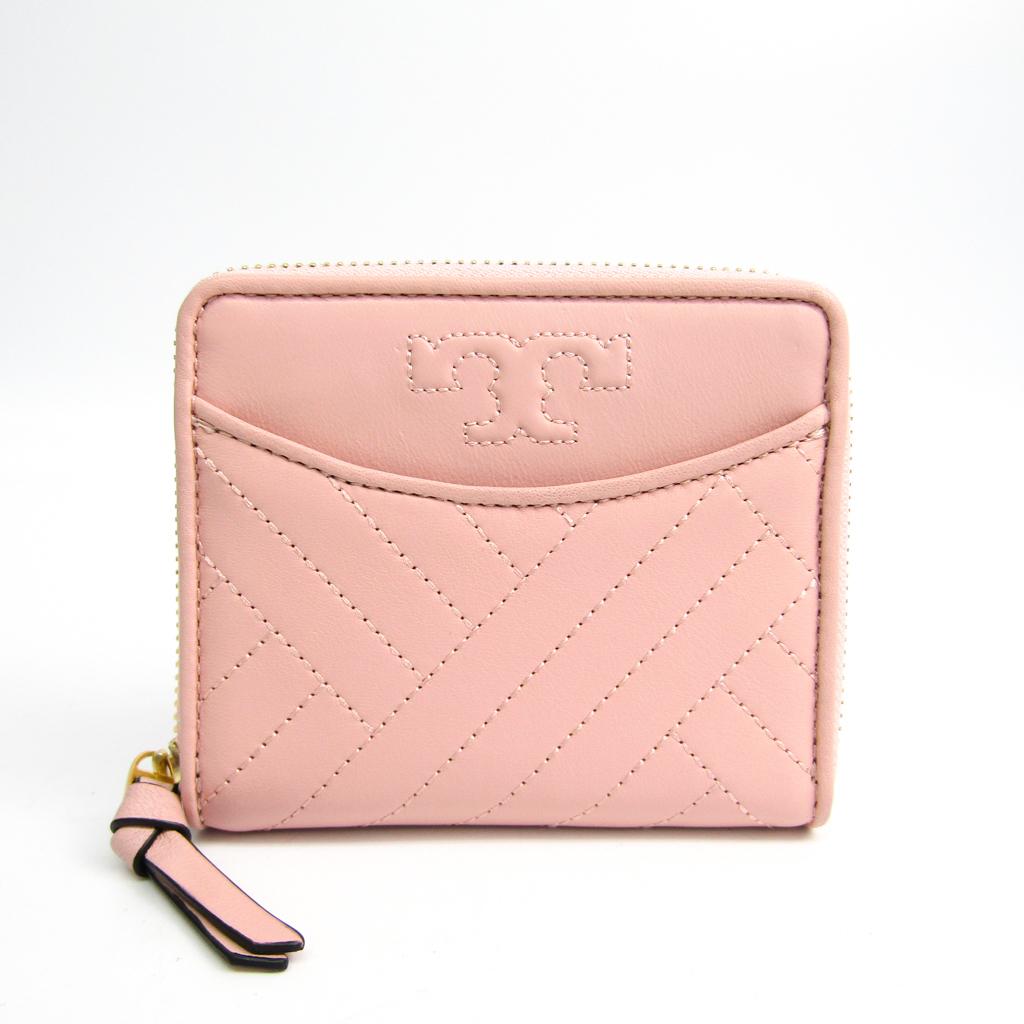 a0daa15f854 Tory Burch ALEXA Medium Zip 41515 Women s Leather Wallet (bi-fold) Ligh  BF335698