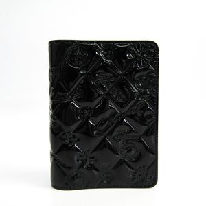 シャネル(Chanel) 手帳 ブラック アイコン シンボルチャーム