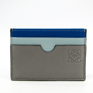 Loewe 109.99T320 Leather Card Case Blue,Gray