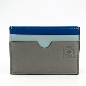 ロエベ(Loewe) 109.99T320 レザー カードケース ブルー,グレー
