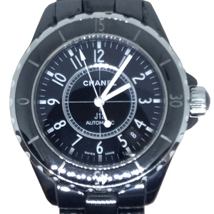 Auth Chanel J12 Automatic Ceramic Casual Watch J12 H0685 Black