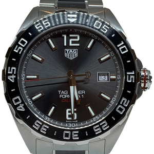 Auth Tag Heuer Automatic Stainless Steel Casual Watch Formula 1 Caribre5 WAZ2011