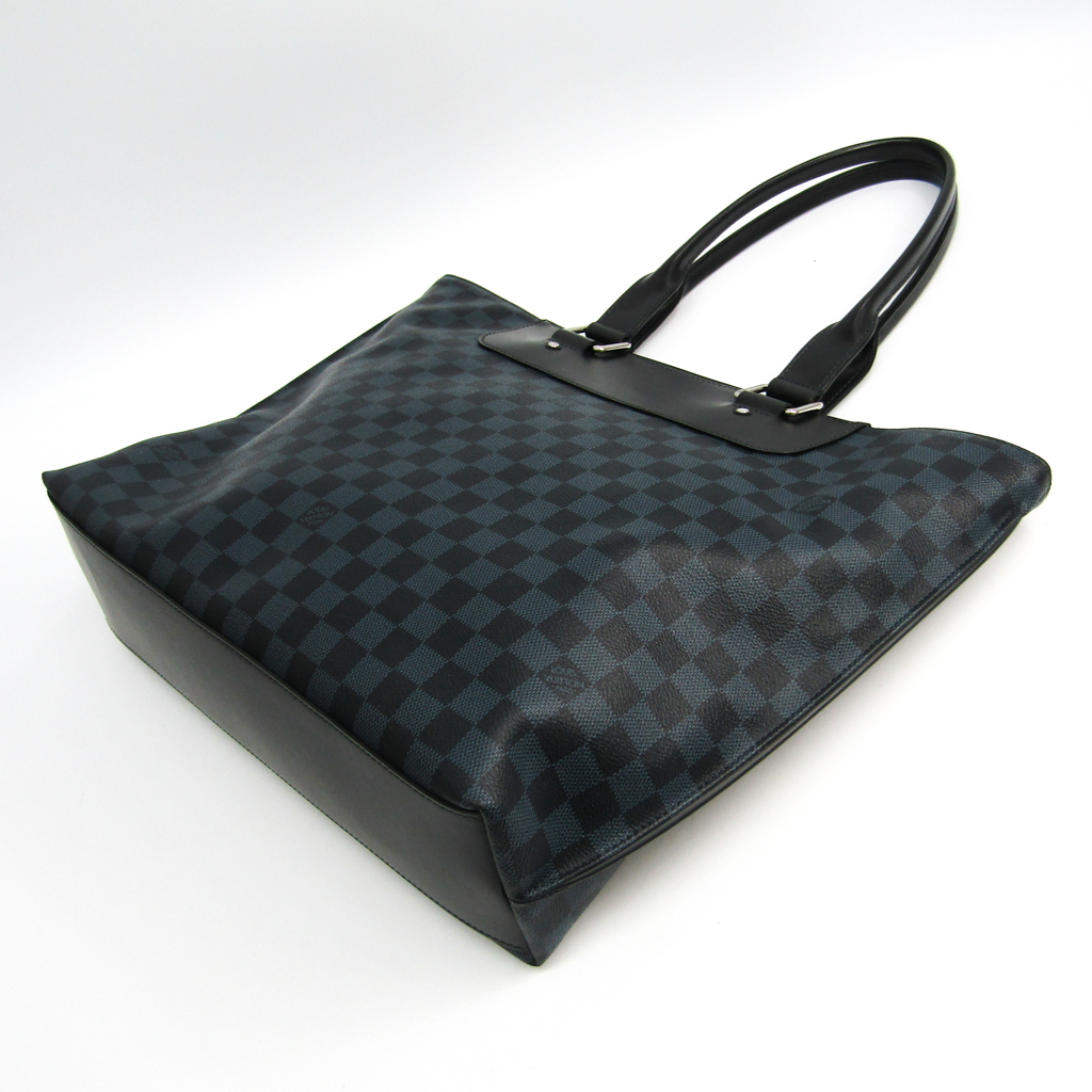 Louis Vuitton Damier Cobalt Cabas Voyage N41397 Men s Tote Bag ... 5dd4656abeb9e