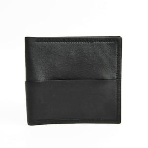 エルメス(Hermes) メンズ レザー 財布(二つ折り) ブラック