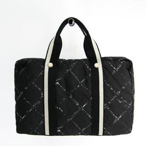 シャネル(Chanel) トラベルライン レディース ナイロン ブリーフケース,パソコンバッグ ブラック