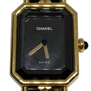 シャネル(Chanel) プルミエール Mサイズ クォーツ ゴールドプレーティング レディース ドレスウォッチ