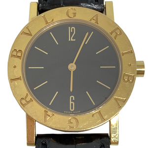Auth Bvlgari Bvlgari Bvlgari Quartz Yellow Gold Boys' Dress Watch BB30GL