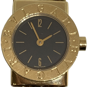 Auth Bvlgari Tubogas Quartz Yellow Gold (18K) Women's Dress Watch BB192T
