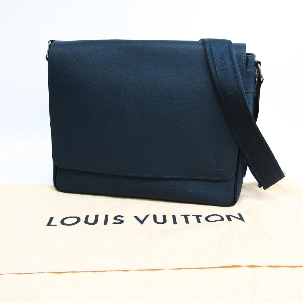 Louis Vuitton Taiga Roman PM M32824 Men s Shoulder Bag Ocean ... 759cfa8c0532b