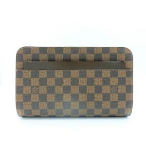 9003306536d8 Louis Vuitton Damier Saint Louis Women s Clutch Bag Ebene