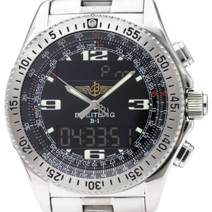 Breitling B-1 Quartz Stainless Steel Men's Sports Watch A68062