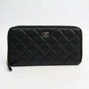 シャネル(Chanel) マトラッセ A50097 レディース  ラムスキン 長財布(二つ折り) ブラック