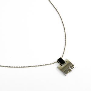 エルメス(Hermes) アイリーン メタル レディース ペンダントネックレス (ブラック,シルバー) 146201FP03