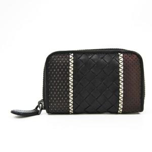 Bottega Veneta Intrecciato Women's Leather Coin Purse/coin Case White,Black,Brown