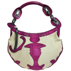 Auth Jimmy Choo Handbag Beige,Pink