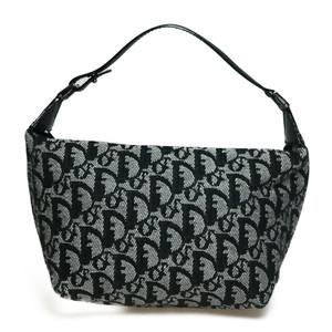Auth Dior Trotter Handbags Pouch Canvas