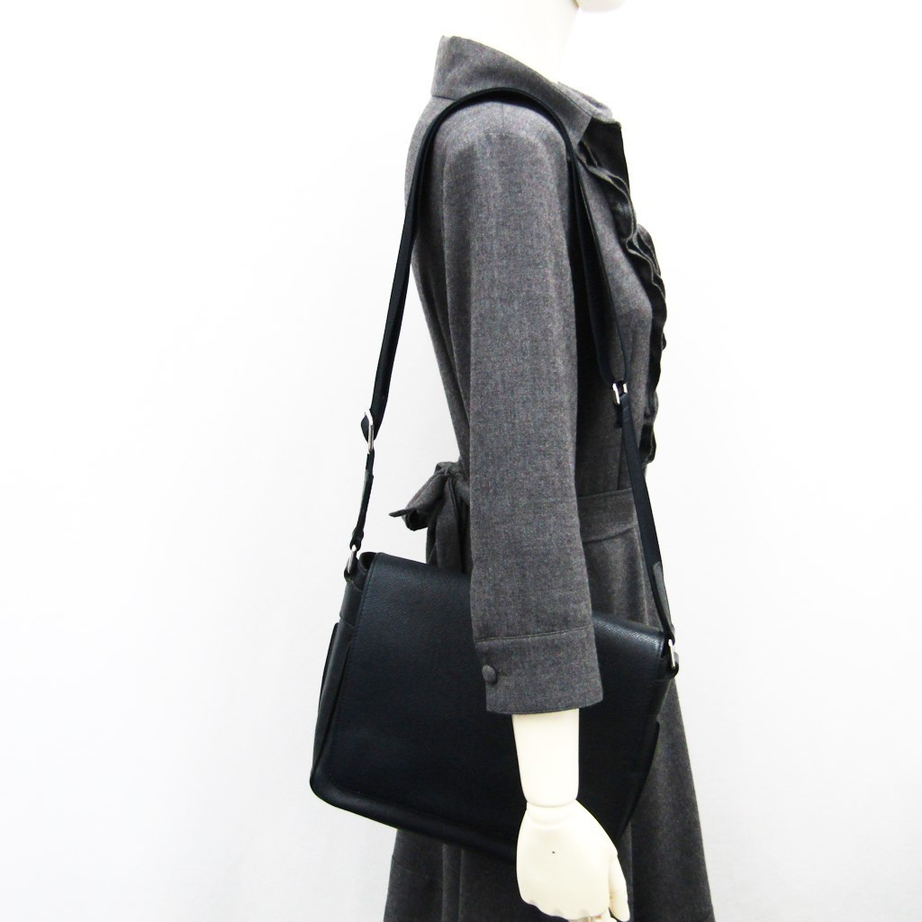 Louis Vuitton Taiga Roman PM M32699 Men s Shoulder Bag Boreal ... 5b601ee98233f
