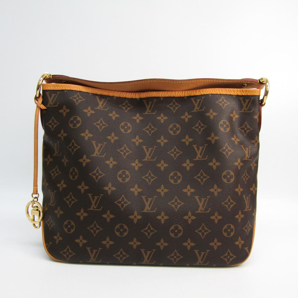 c3d28ea3501b Details about Louis Vuitton Monogram Delightful PM M50155 Women s Shoulder  Bag Pivoin BF335218