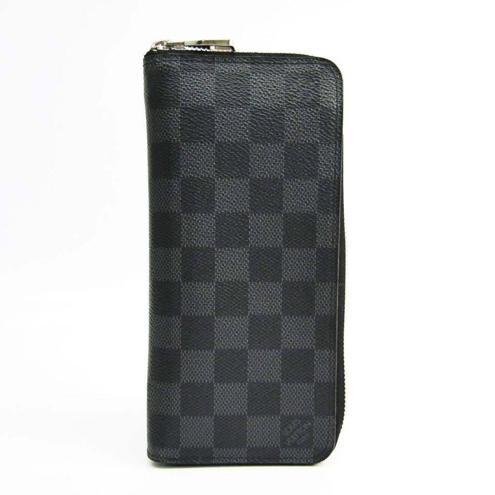 dc46aeb90c9 Louis Vuitton Damier Graphite Zippy-wallet-vertical N63095 Men's ...