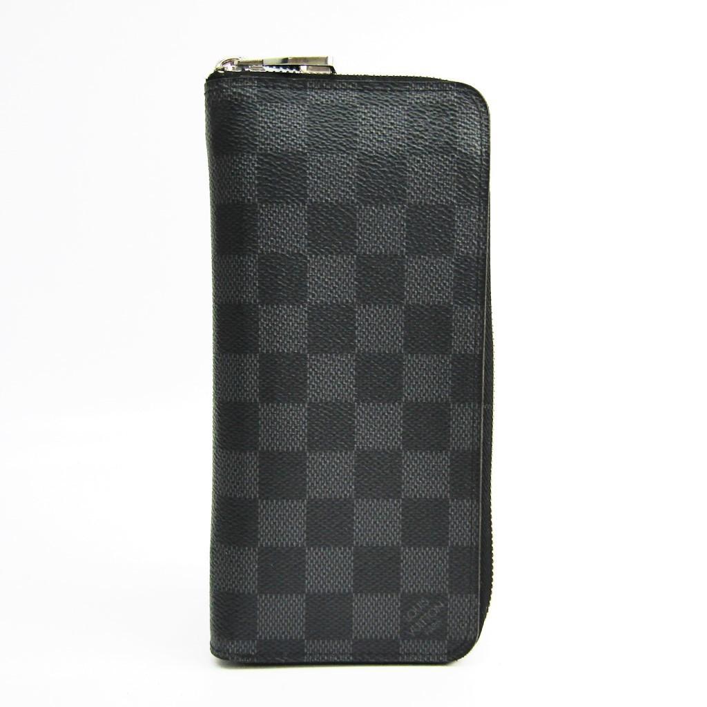 Louis Vuitton Damier Graphite Zippy-wallet-vertical N63095 Men s Damier  BF336725 b03418a65959d