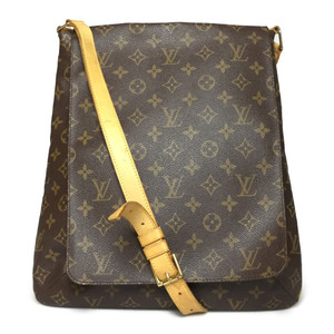 Auth Louis Vuitton Monogram M51256 Musette Shoulder Bag