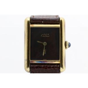 カルティエ(Cartier) タンク レディース 腕時計 タンクヴェルメイユ 手巻き
