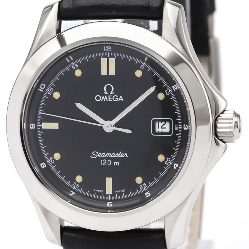 Omega Seamaster Quartz Stainless Steel Sports Watch 2511.50