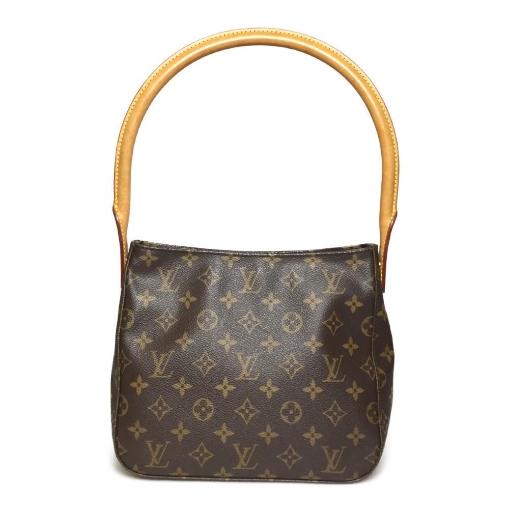 Auth Louis Vuitton Monogram M51146 Looping MM Handbag,Shoulder Bag