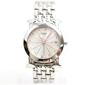Hermes Heure H Quartz Stainless Steel Women's Dress Watch Rondo HR 1.510
