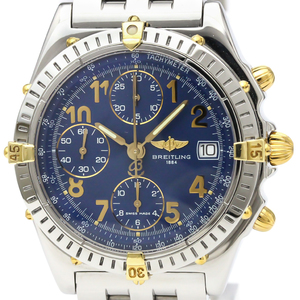 Breitling Chronomat Automatic Stainless Steel,Yellow Gold (18K) Men's Sports Watch B13050.1