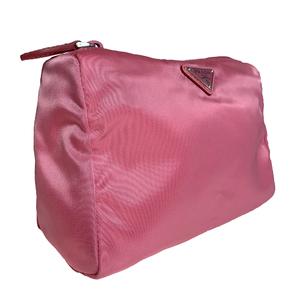 プラダ(Prada) 1NA011 レディース ナイロン ポーチ GERANIO ゼラニウム ピンク