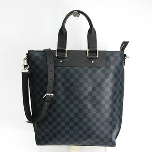 ルイ・ヴィトン(Louis Vuitton) ダミエ・コバルト カバジュール N42223 メンズ ハンドバッグ,ショルダーバッグ ダミエ・コバルト