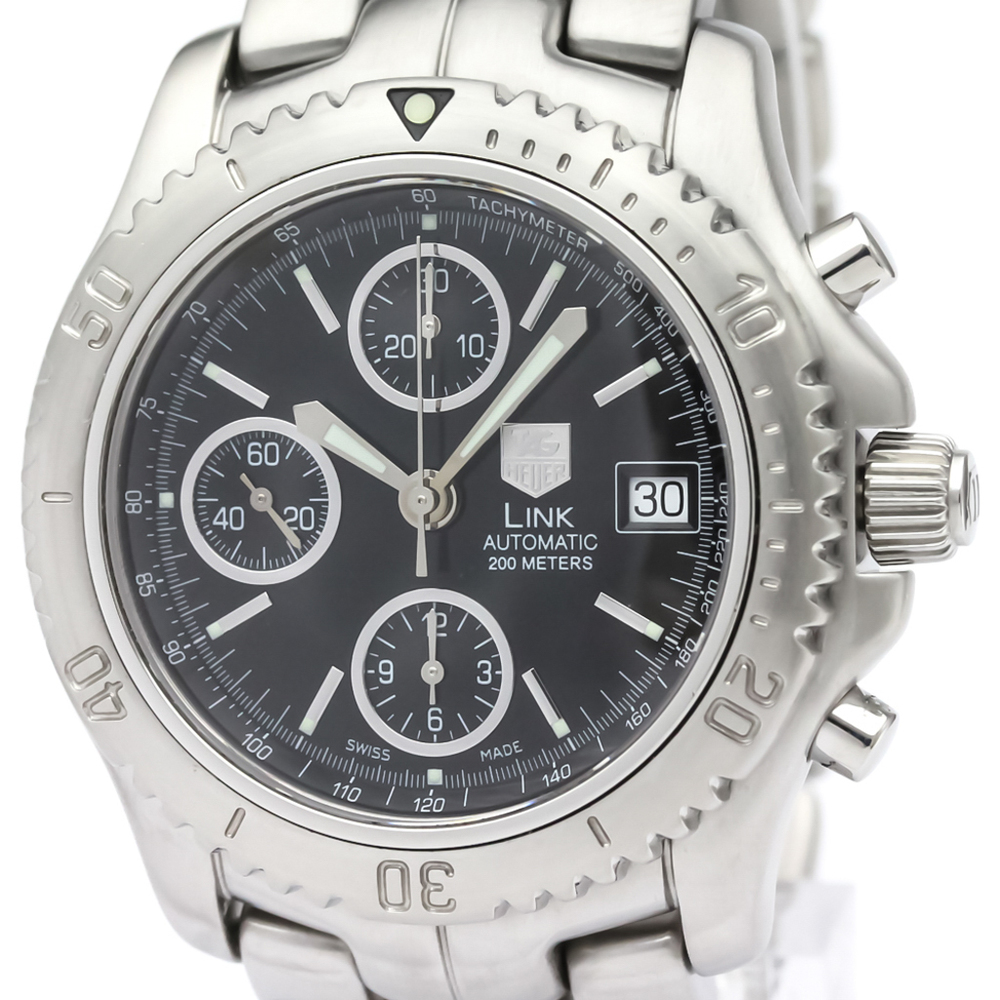 Tag Heuer Link Automatic Stainless Steel Men's Sports Watch CT2111