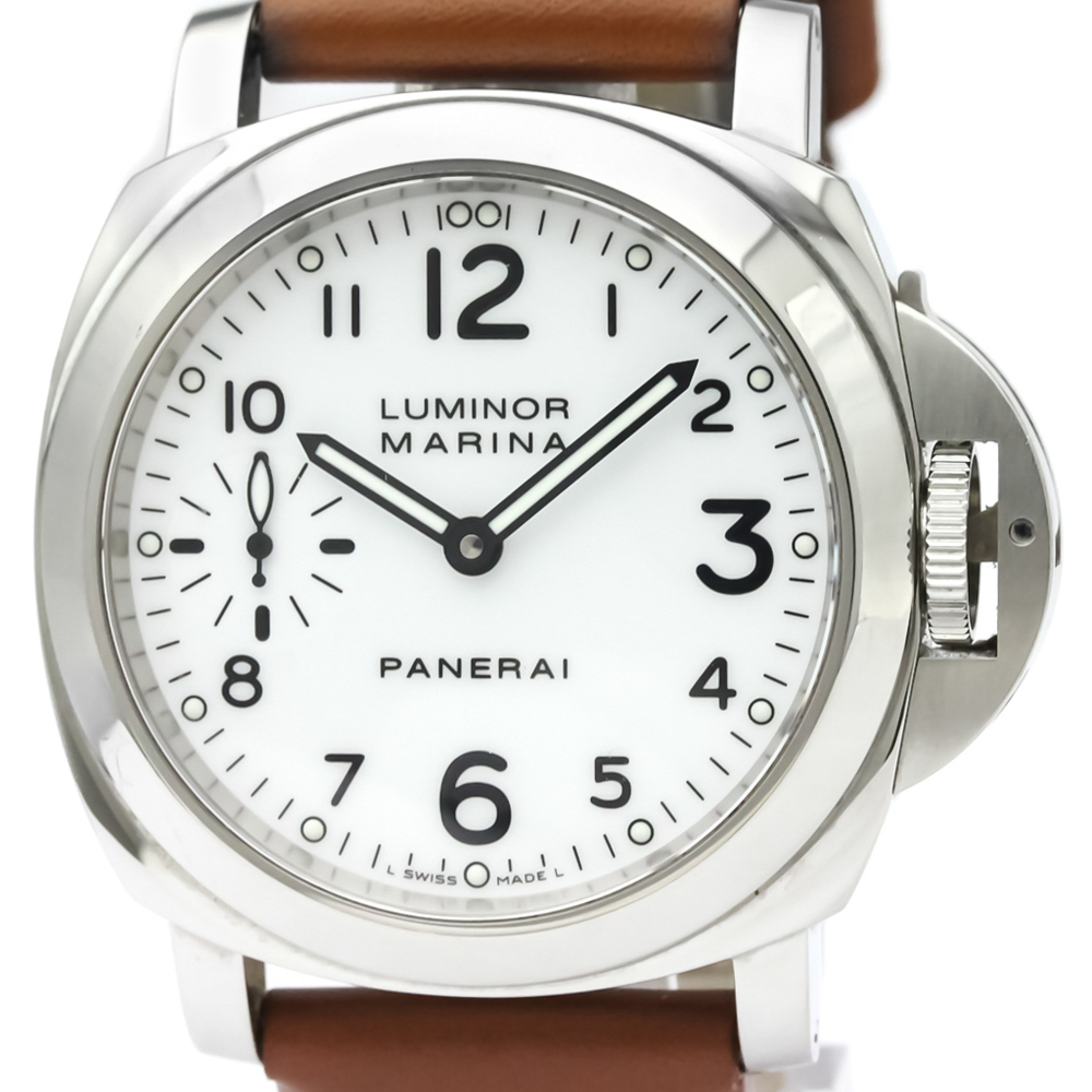 Officine Panerai Luminor Mechanical Stainless Steel Men's Sports Watch PAM00113