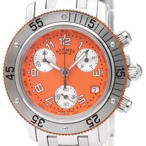 Hermes Clipper Quartz Stainless Steel Women's Sports Watch CL2.316