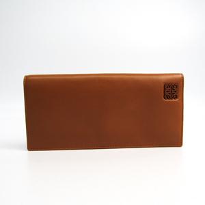 Loewe Women's Nappa Leather Long Wallet (bi-fold) Camel