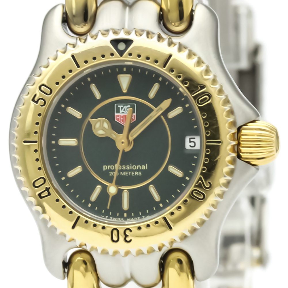 Tag Heuer Sel Quartz Gold Plated,Stainless Steel Women's Dress Watch WG1426