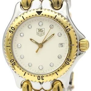 Tag Heuer Sel Quartz Yellow Gold (18K),Stainless Steel Men's Dress Watch S90.713