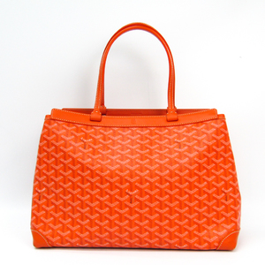 Goyard Bellechasse Bellechasse PM Women's Canvas,Leather Tote Bag Orange