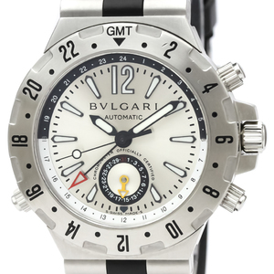 Bvlgari Diagono Automatic Stainless Steel Men's Sports Watch GMT40S