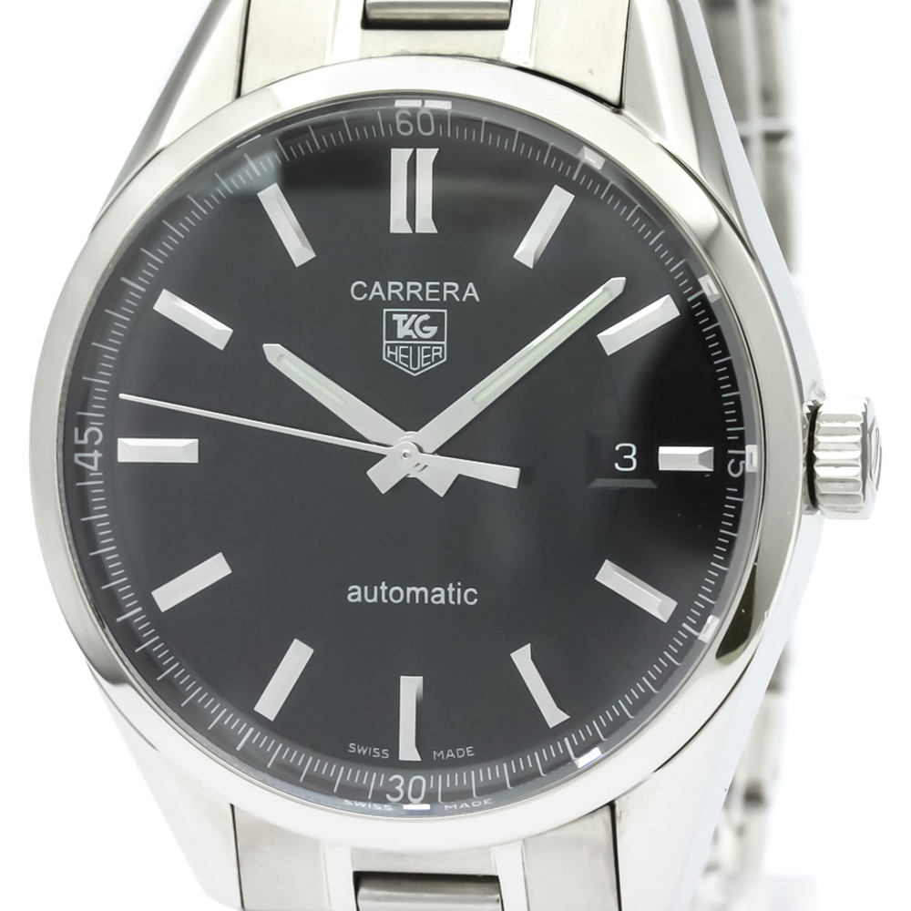 TAG HEUER Carrera Calibre 5 Steel Automatic Mens Watch WV211B