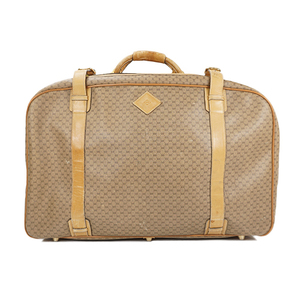 02b779cceef Auth Gucci Garment Case Travel Bag MicroGuccissima Old Gucci Beige